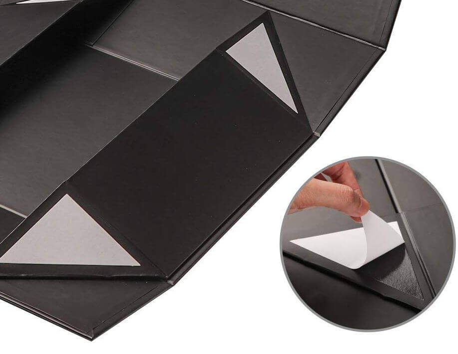 easy to fold collapsible box