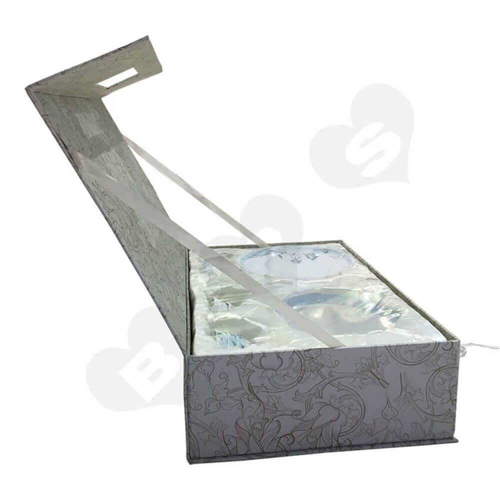 glass bowl packaging box Sideview Eight