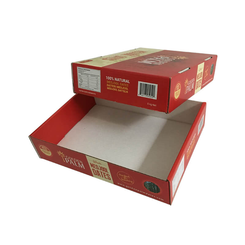 offset printing corrugated top and bottom fruit box