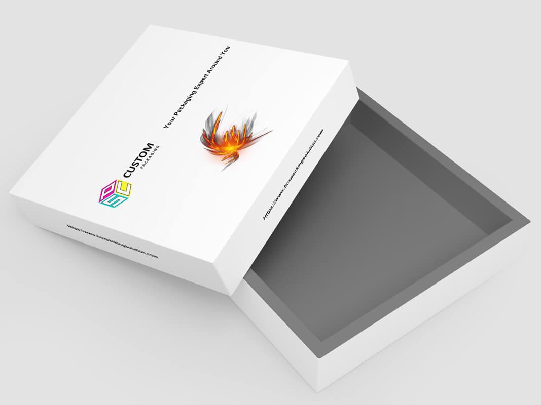rigid gift box for garment