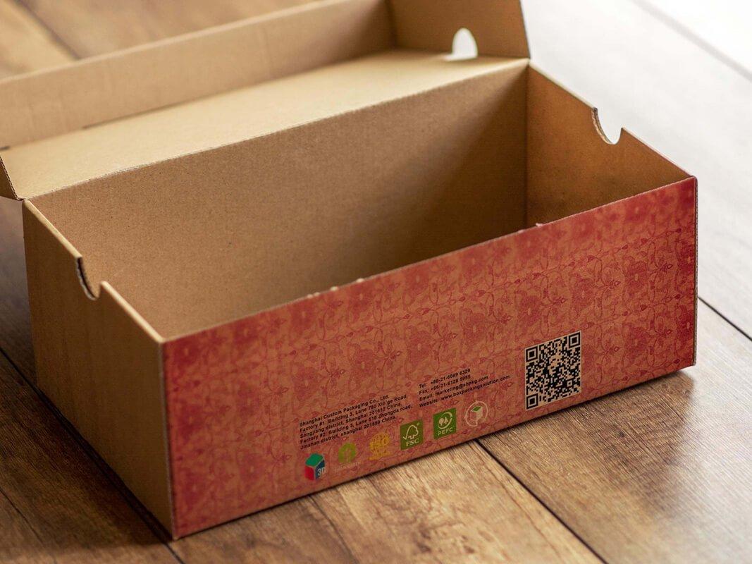shoe box size shipping boxes