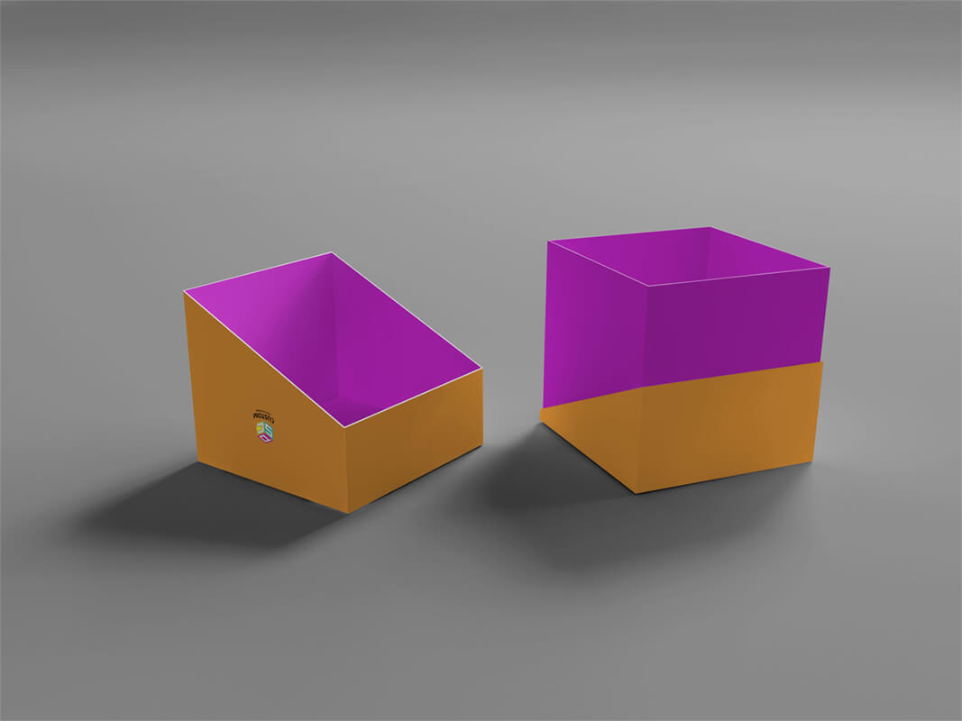 specialty paper coated rigid box mock up