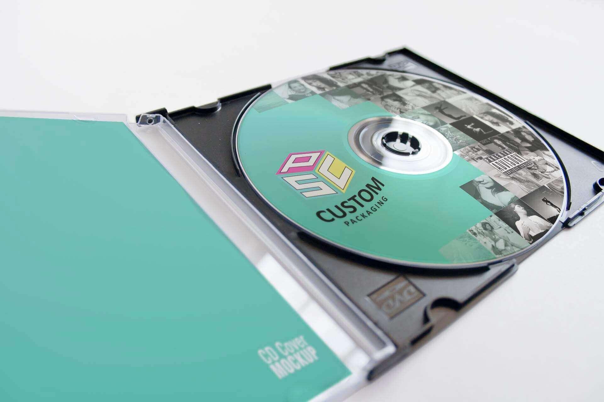 Albulm CD packaging Mock-up