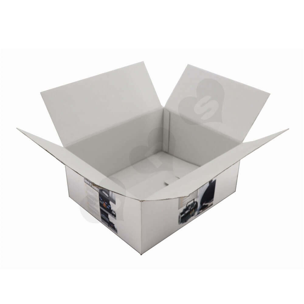 Bbq Blower Corrugated Packaging Boxes Side View One