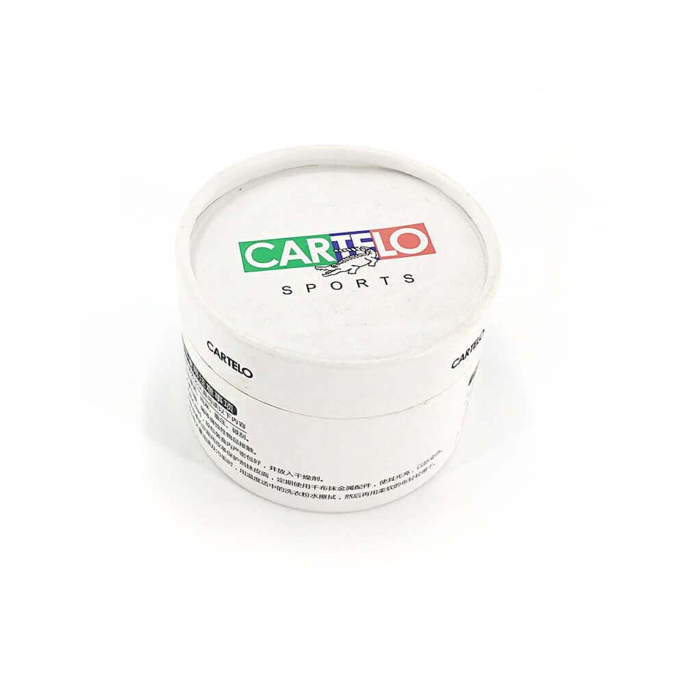 Belt Cardboard Packaging Tube Side View One
