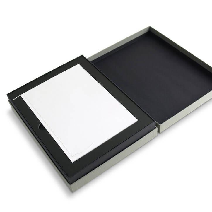 Black Lining Black Rigid Boxes