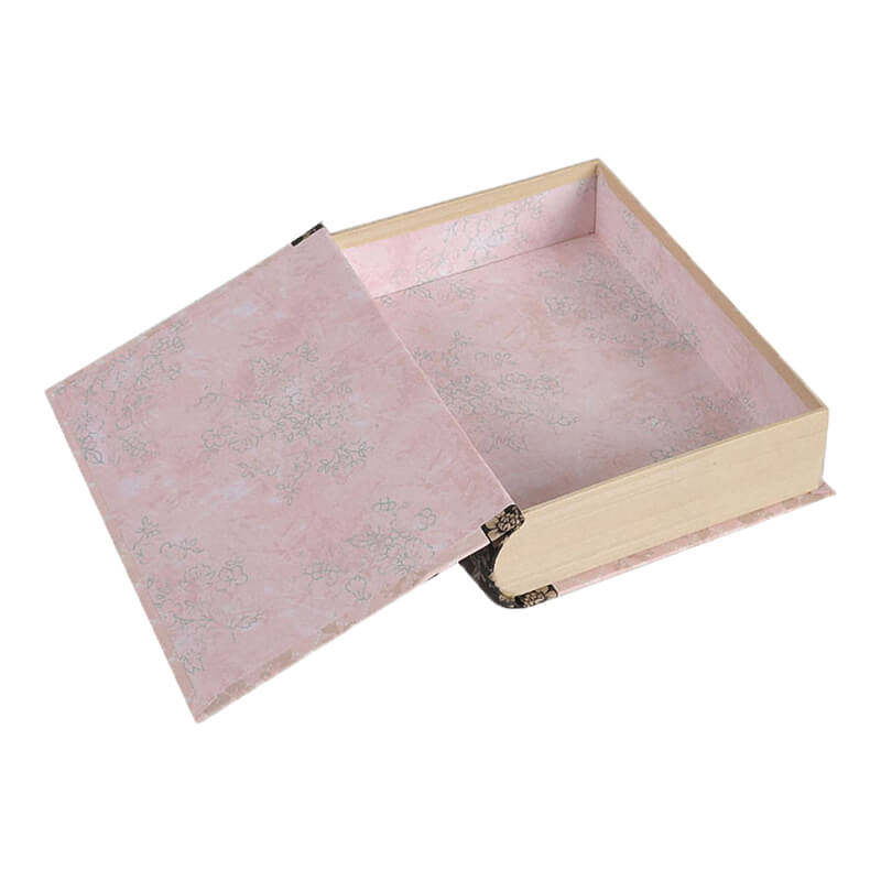 Book Shape Box With Double Sided Printing