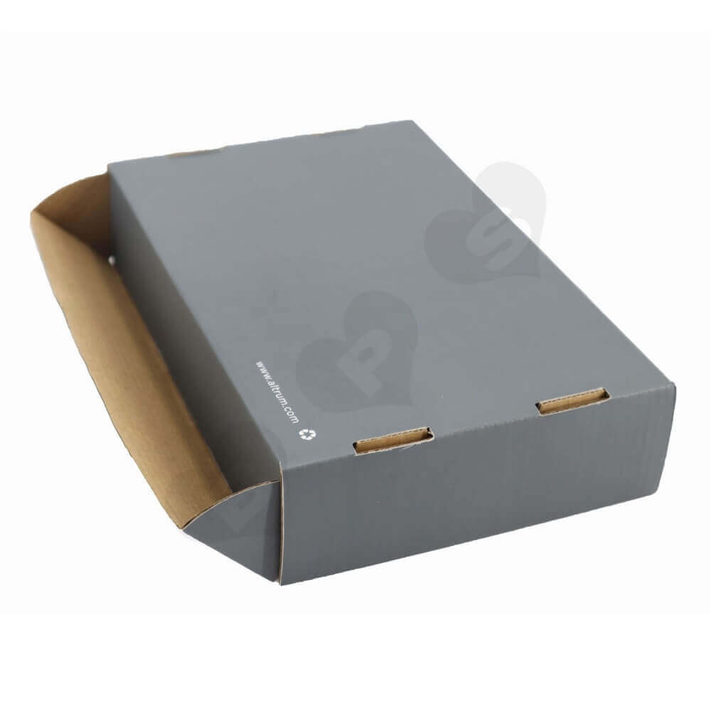 Business Product Roll End Box Packaging Side View One