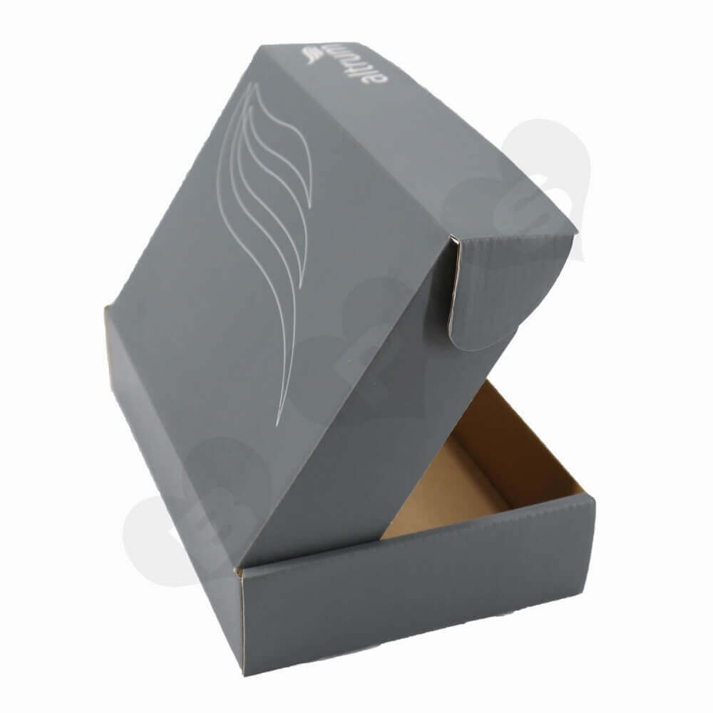 Business Product Roll End Box Packaging Side View Three