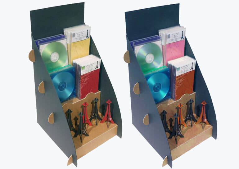 CD DISPLAY shelf