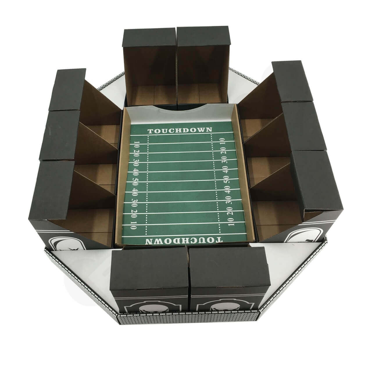Cardboard Snack Stadium Super Bowl 3