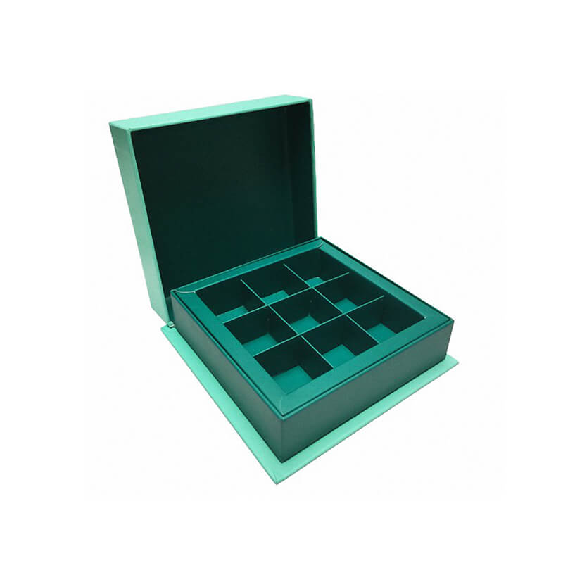 Chocolate Packaging Box With Cardboard Insert