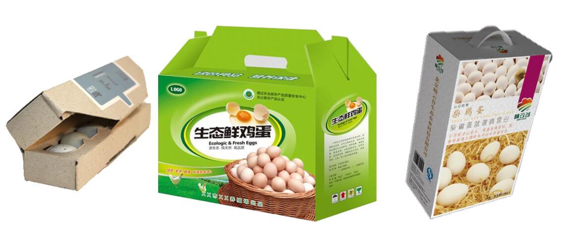Custom Egg Gift Packaging Boxes