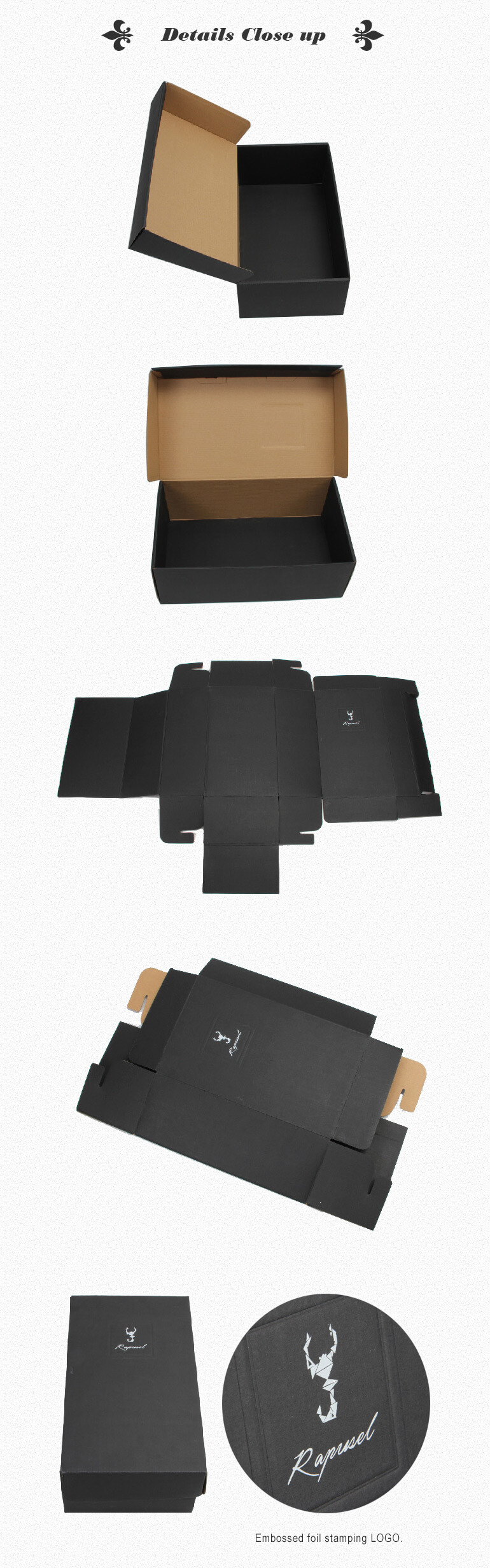 Custom Made Shoes Packaging Box