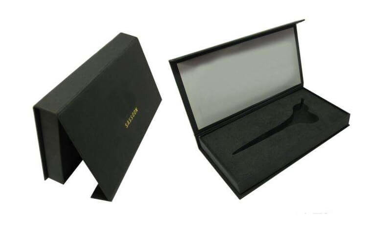 Custom Rigid Box With EVA Foam Inserts
