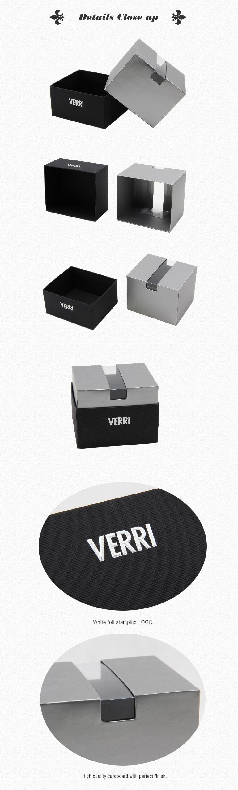 Custom Tie Rigid Packaging Box