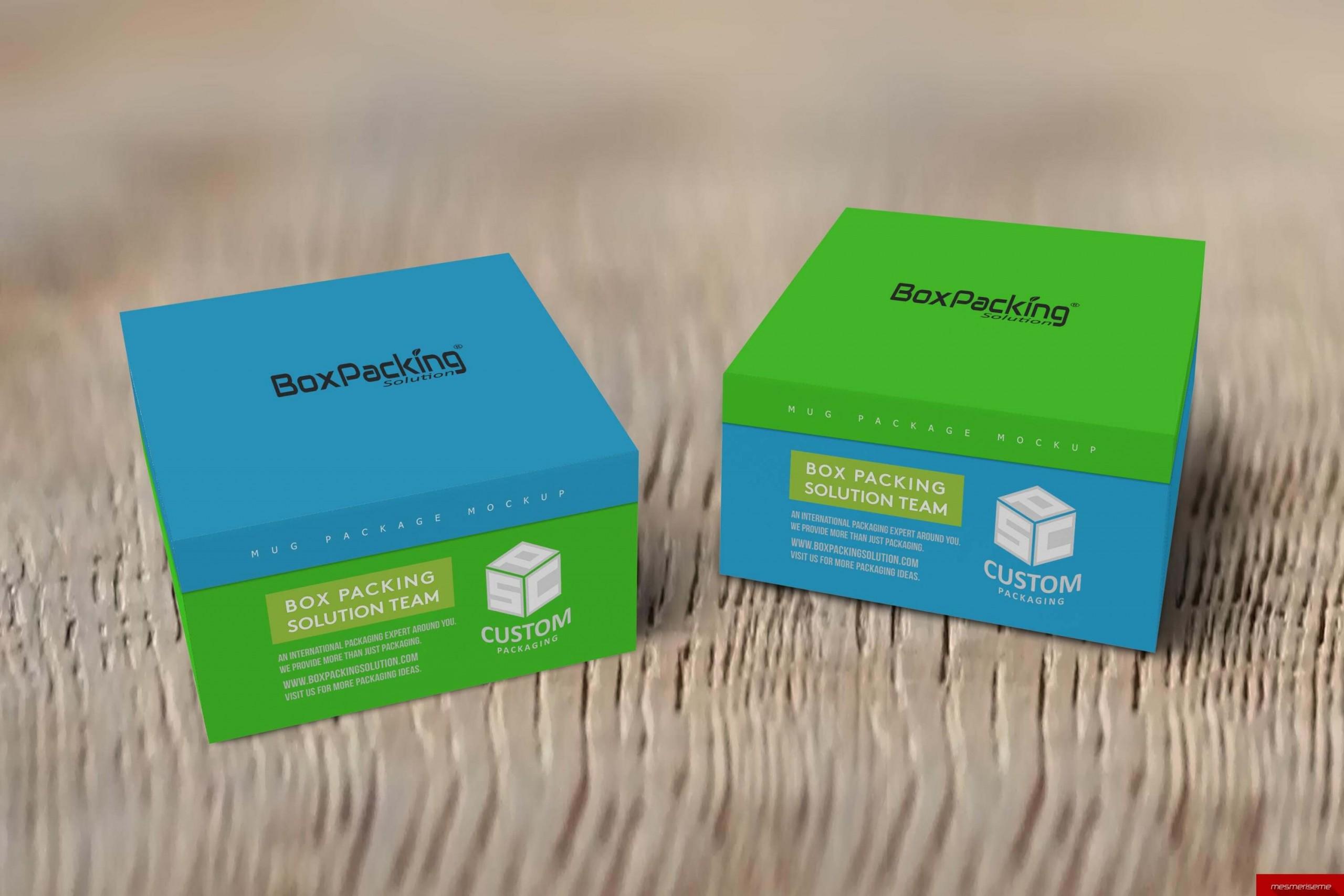 Customized Bespoke Rig Mug Packaging Box