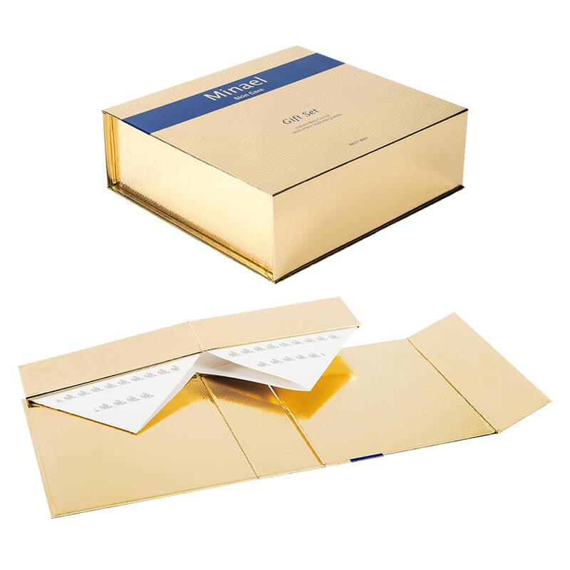 Customized Foldable Rigid Gift Box For Cosmetics