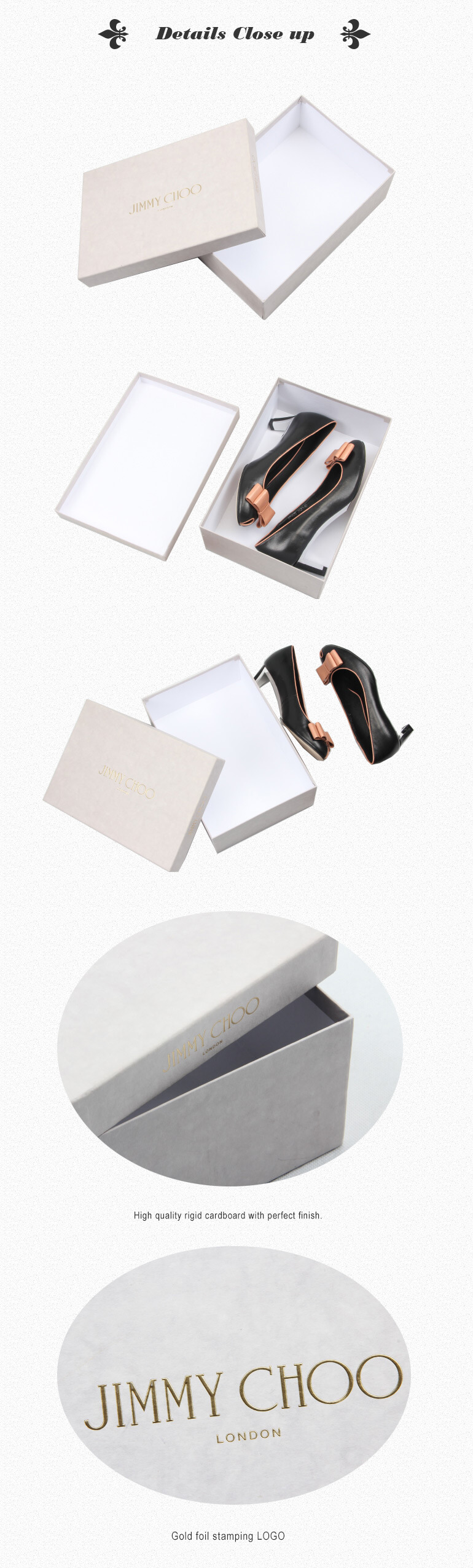 Customized High Heel Packaging Box Made To Measure