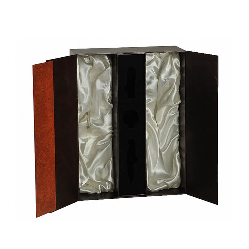 Double Flap Closure Rigid Gift Boxes