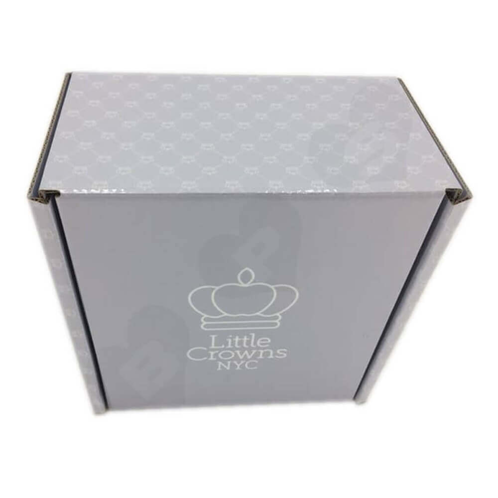 Double Side Custom Printed Cardboard Mailer Box Side View Eleven