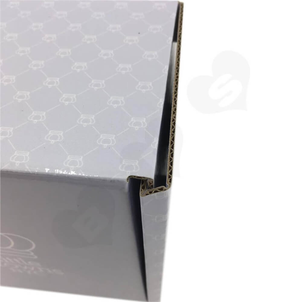 Double Side Custom Printed Cardboard Mailer Box Side View Three