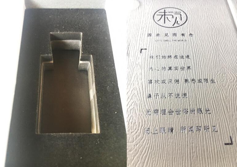 EVA Foam Insert In Bespoke Perfume Packaging Boxes