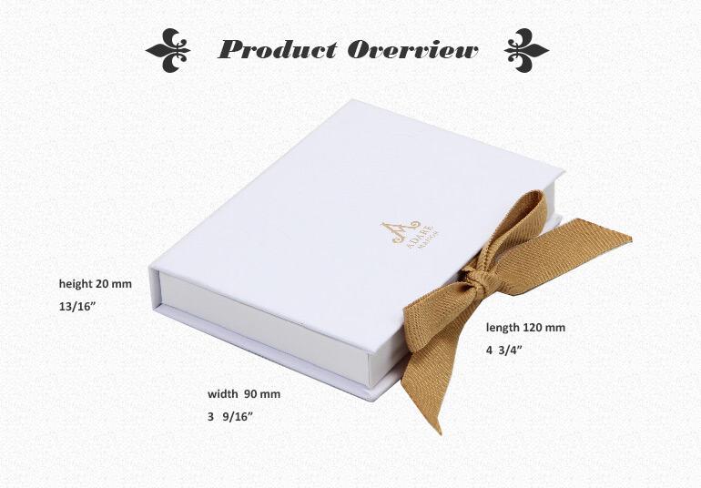 Full Over Embossed Logo Printed Gift Box For Member Card