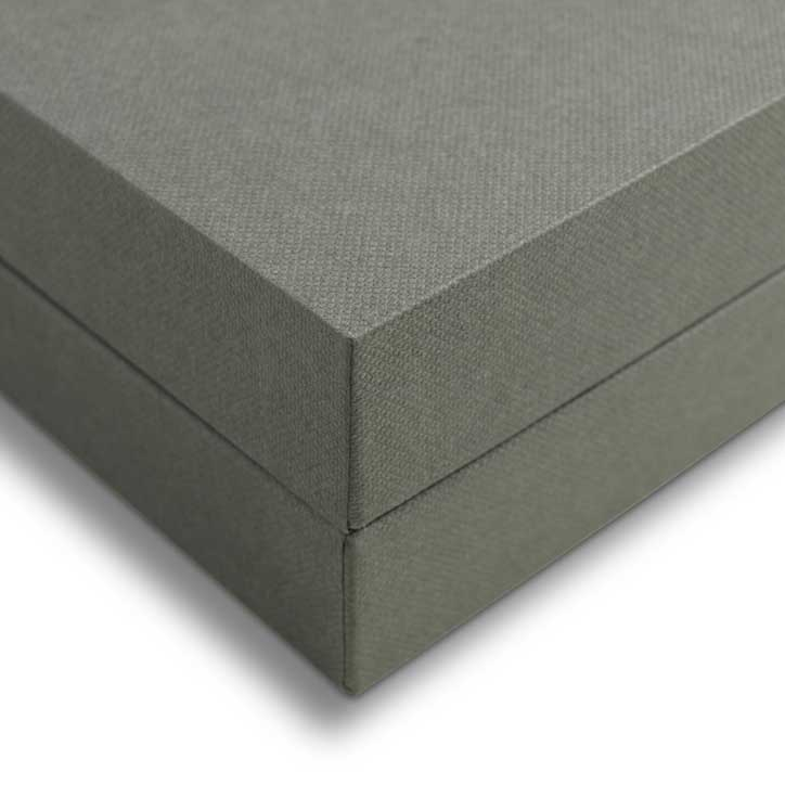 Grey Telescope Boxes Custom Made