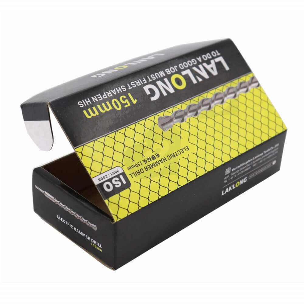 Hammer Drill Packaging Box Side View One