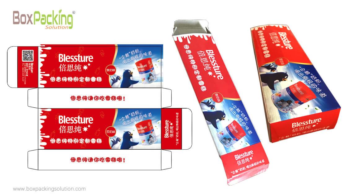 Ice Cream Packaging Box Design