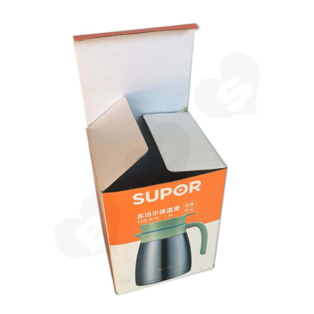 Insulation Pot Packaging Box Side View Five