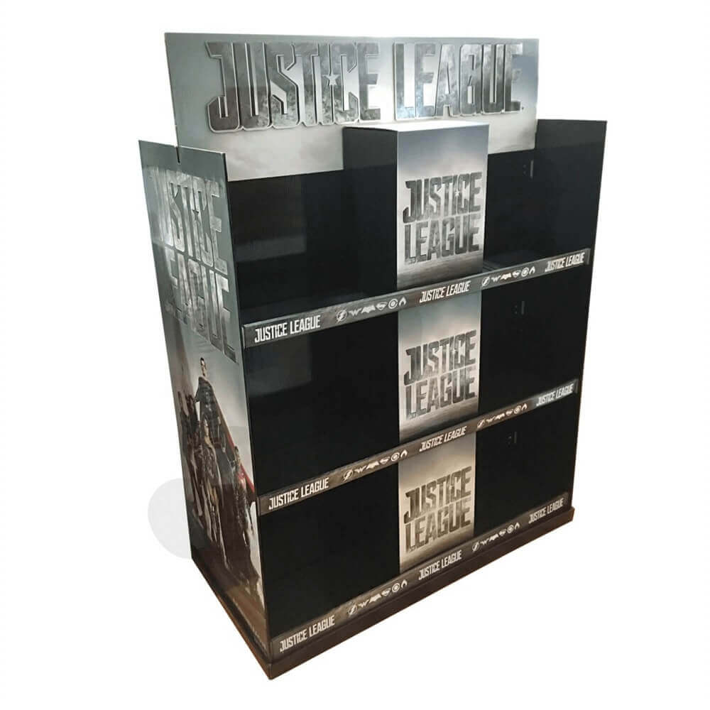 Large Custom CD DVD Display Rack Sideview One