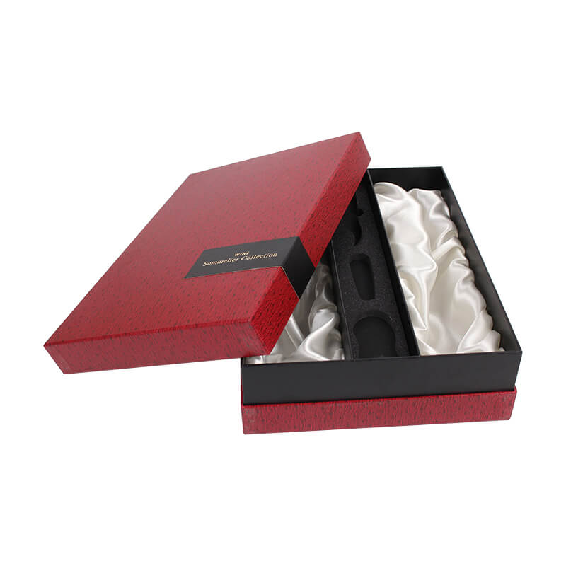 Luxury Gift Box For Glass Bottle Wine