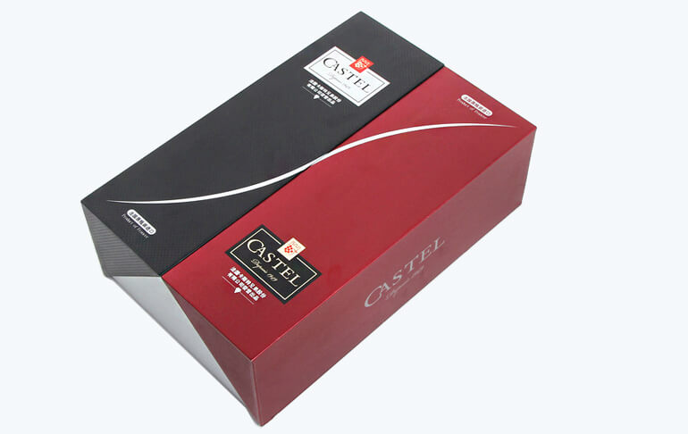 Luxury Two Pack Red Wine Packaging Box