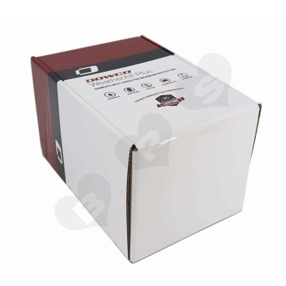 Marine Dust Cover Packaging Box Side View Two