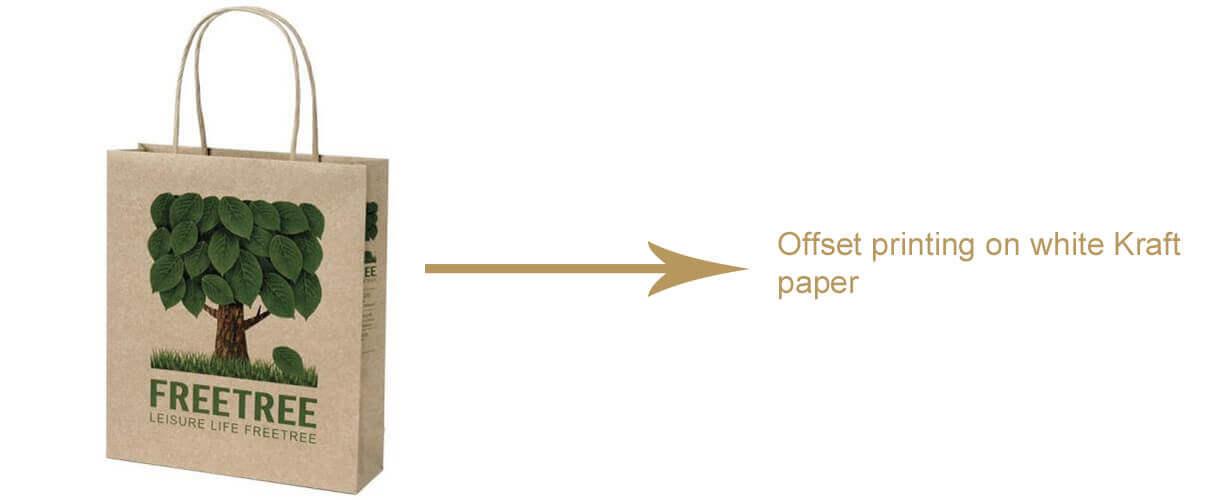 Offset Printing On White Kraft Paper