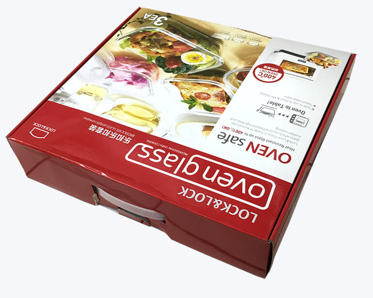 Oven Glass Cardboard Packaging 3
