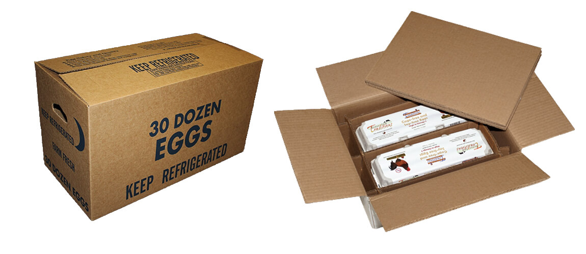 Personalized Egg Packaging Carton