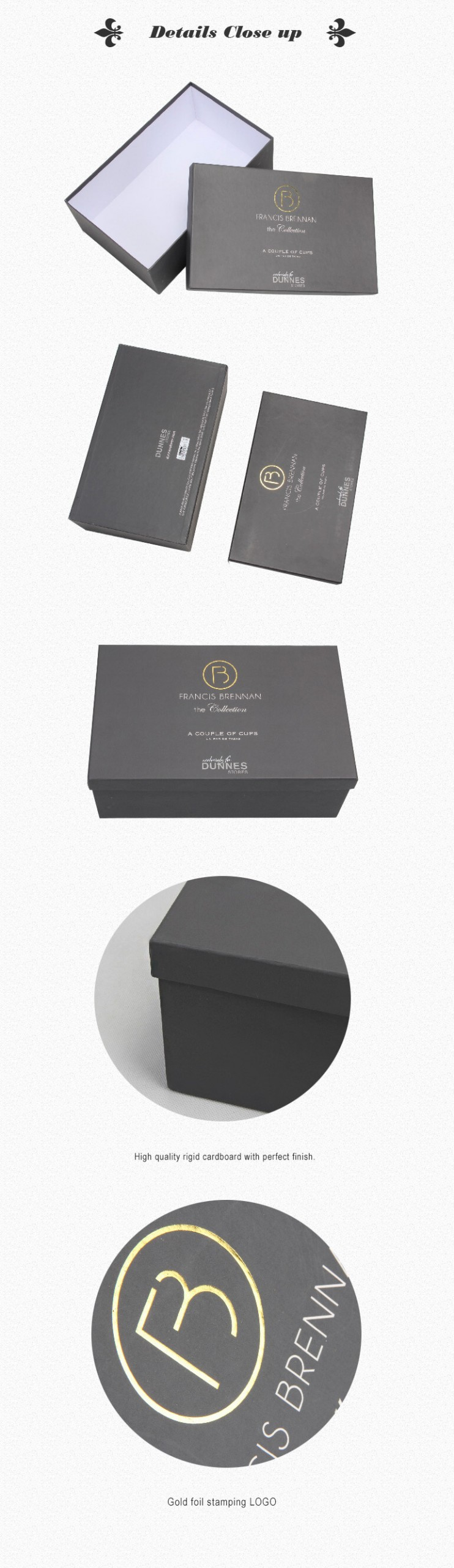Personalized Rigid Shoe Packaging Boxes