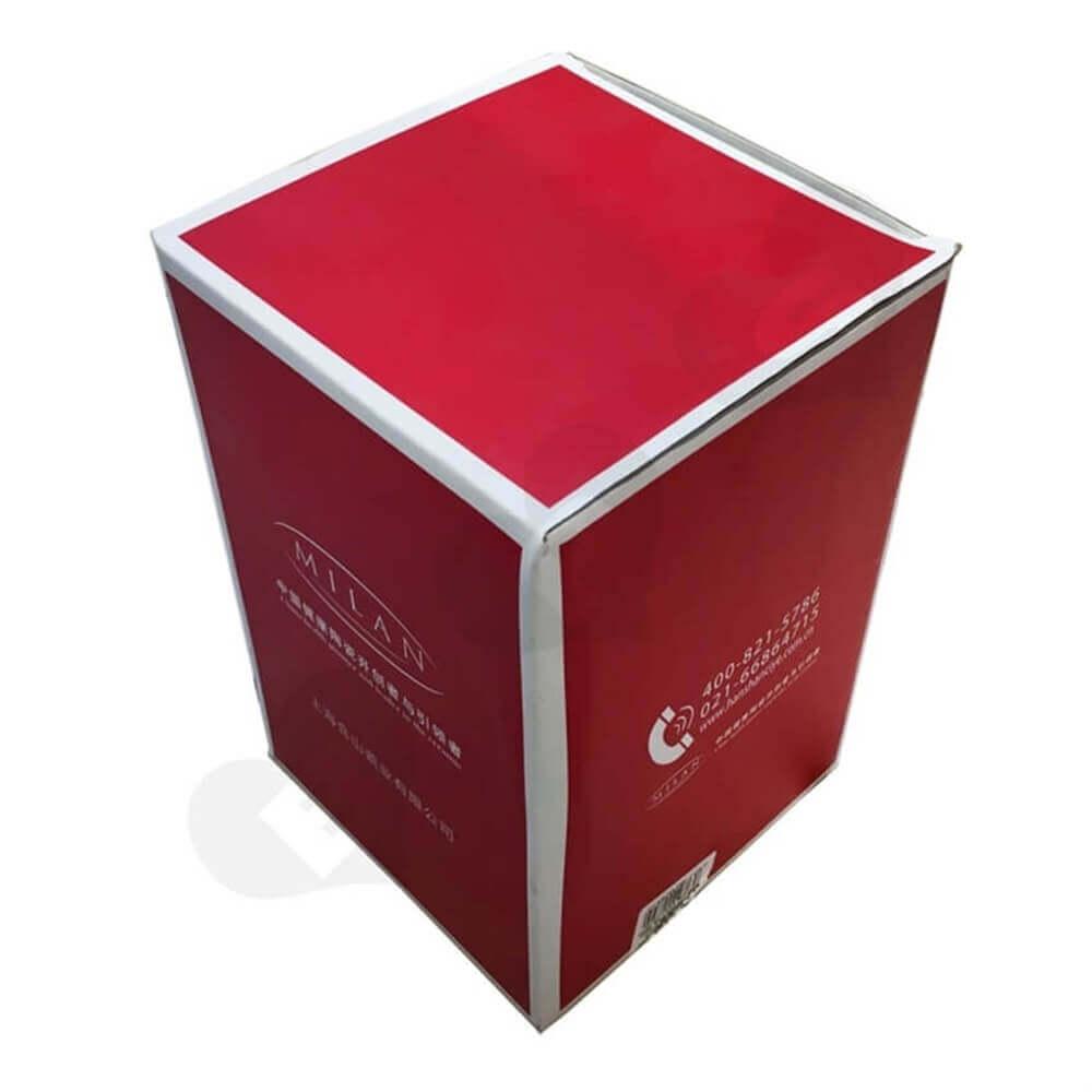 Porcelain Crisper Packaging Box Side View Five