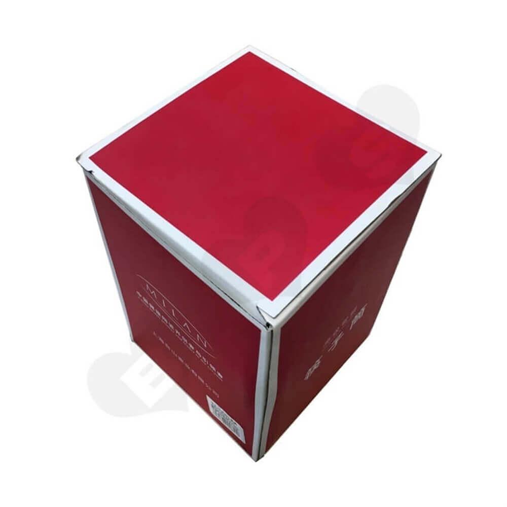 Porcelain Crisper Packaging Box Side View Seven