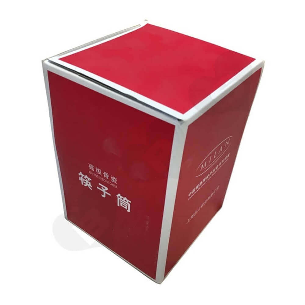Porcelain Crisper Packaging Box Side View Six