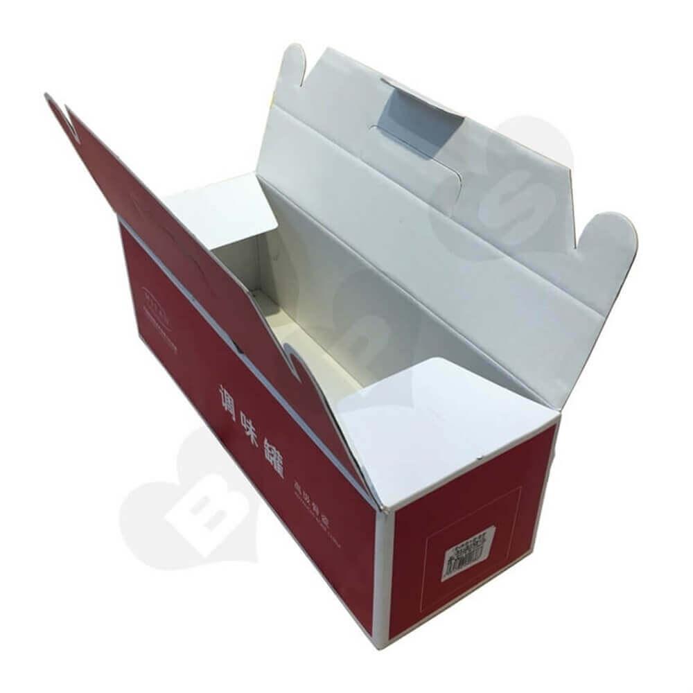Porcelain Crisper Packaging Box Side View Twelve