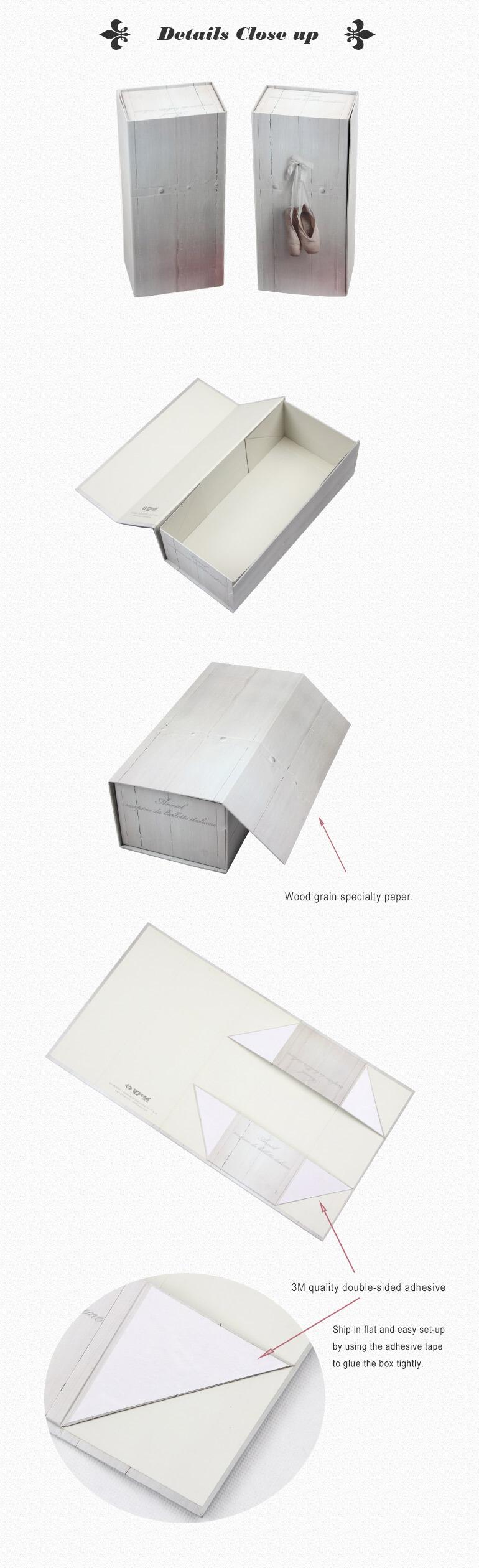 Rigid Box For Ballet Dancing Shoes