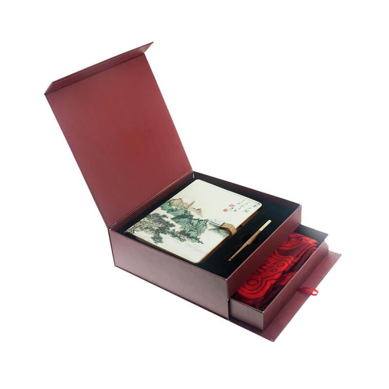 Rigid Cardboard Box With Two Floors