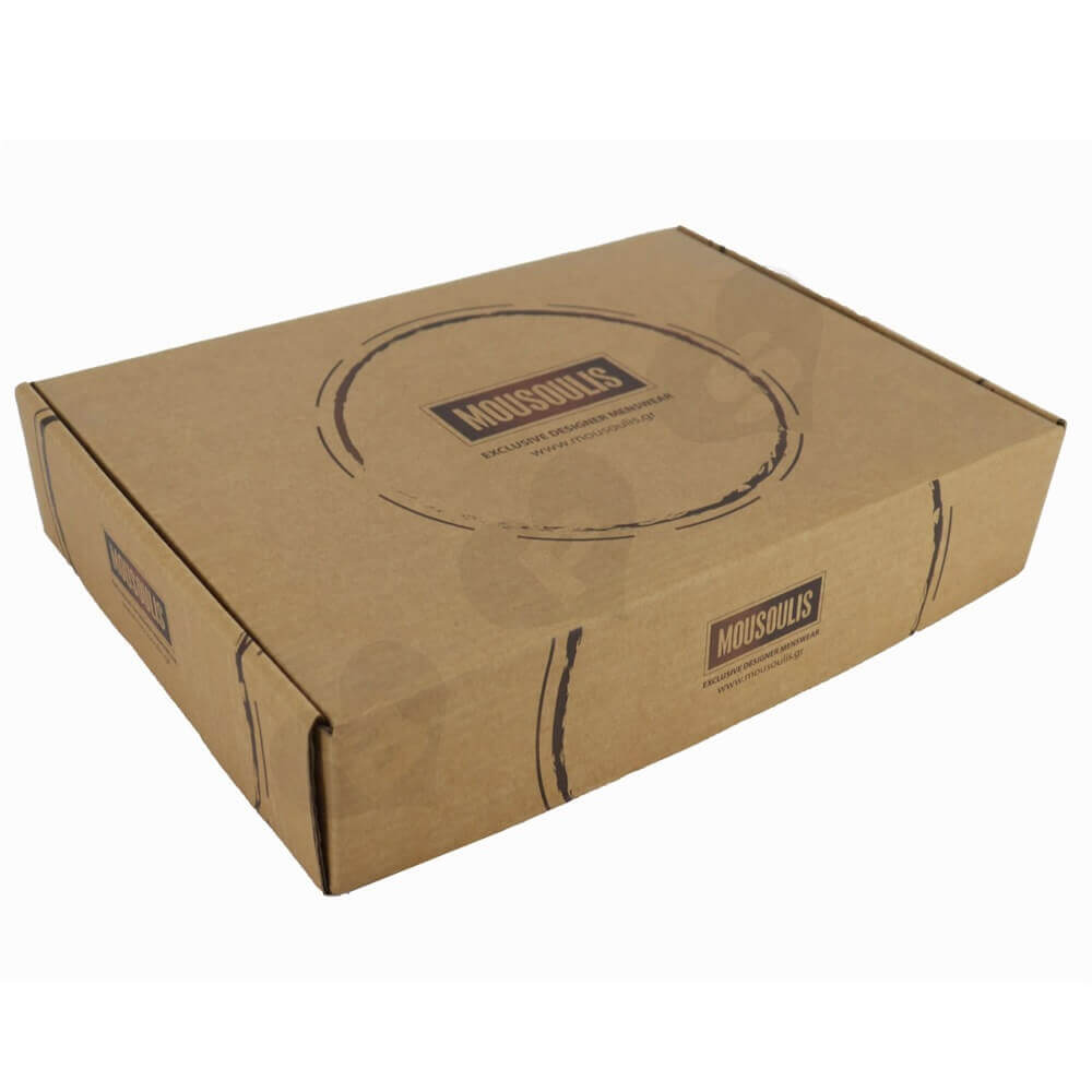 Rigid Corrugated Cardboard Apparel Box Side View One