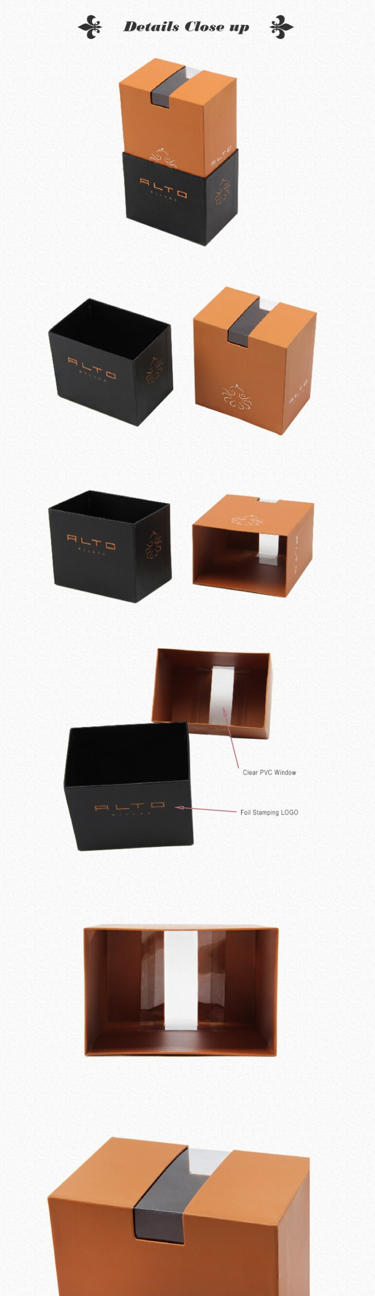 Rigid Gift Box For Belt And Waistband