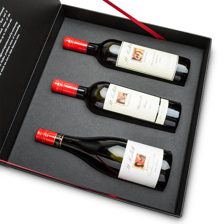 Rigid Present Box For Wine