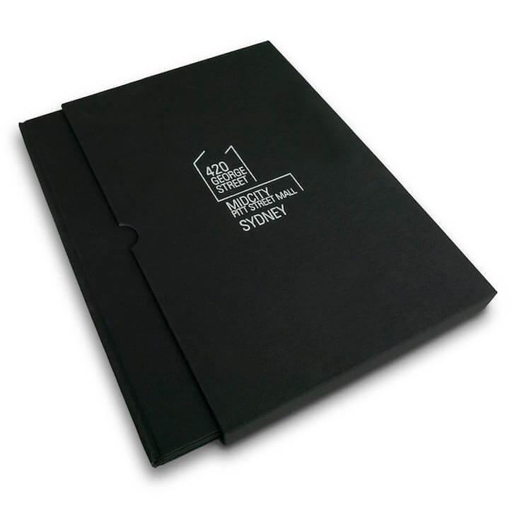 Rigid Slipcase Cardboard Material